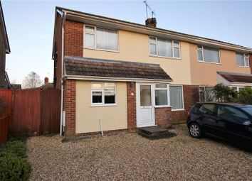 Thumbnail 3 bed semi-detached house to rent in Warland Way, Corfe Mullen, Wimborne, Dorset