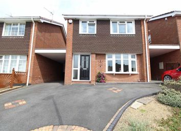 Thumbnail 4 bed detached house for sale in Warren Drive, Northway, Sedgley