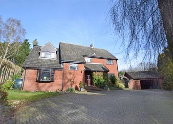 Thumbnail 4 bedroom detached house to rent in Honingham, Norwich