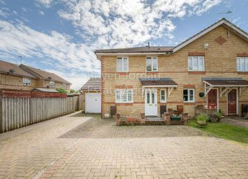 Thumbnail 3 bed end terrace house for sale in Chicksands Avenue, Monkston, Milton Keynes