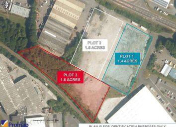 Thumbnail Light industrial for sale in Land At London Road, Pembroke Dock
