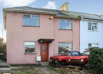 3 bed semi-detached house for sale in North Down Crescent, Keyham, Plymouth PL2