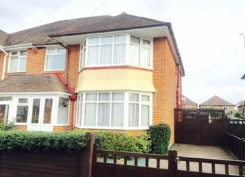 Thumbnail 3 bedroom property to rent in Branksome Avenue, Shirley, Southampton