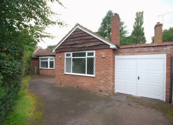 Thumbnail 3 bed detached bungalow to rent in Park View Road, Sutton Coldfield