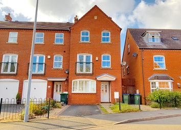 Thumbnail 4 bed town house for sale in David Harman Drive, West Bromwich, West Midlands