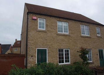 Thumbnail 2 bed semi-detached house to rent in Bevington Way, Eynesbury, St. Neots