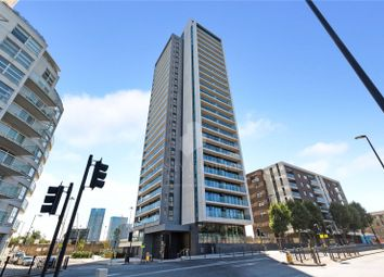 Thumbnail 1 bedroom flat for sale in Horizons Tower, Yabsley Street, Canary Wharf, London