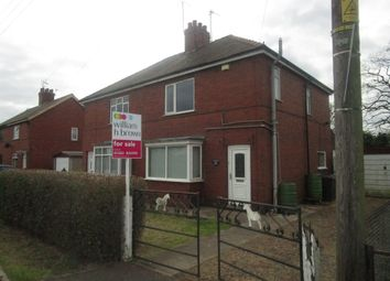 Thumbnail 3 bed semi-detached house for sale in Stacey's Cottages, Fosterhouses, Doncaster