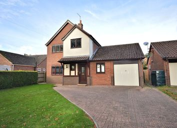 Thumbnail 4 bed detached house for sale in Elmham Road, Beetley, Dereham