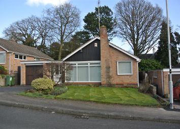 Thumbnail 3 bed detached bungalow for sale in Hewitt Drive, Kirby Muxloe, Leicester