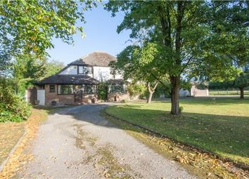 Thumbnail 4 bed detached house for sale in The Acorns, Redehall Road, Smallfield, Horley