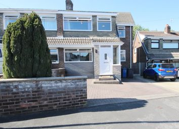 Thumbnail 4 bed semi-detached house for sale in Monmouth Crescent, Ashton-In-Makerfield, Wigan