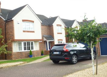 Thumbnail 4 bed detached house to rent in Miranda Drive, Heathcote, Warwick