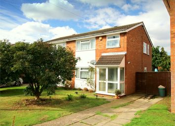 Thumbnail 3 bed semi-detached house for sale in Philip Gardens, Eynesbury, St. Neots