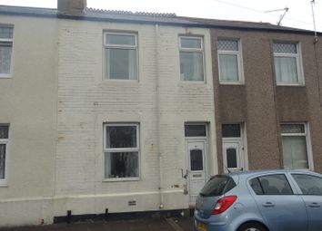 Thumbnail 3 bed terraced house for sale in Arthur Street, Barry