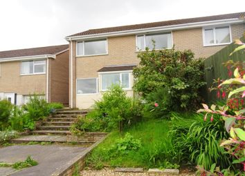 Thumbnail 4 bed semi-detached house to rent in Dobwalls, Liskeard, Cornwall