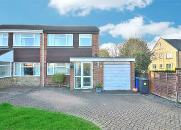 Thumbnail 3 bedroom semi-detached house for sale in Meadway, Bugbrooke, Northampton