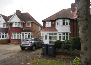 Thumbnail 3 bed semi-detached house for sale in Miall Road, Hall Green, Birmingham