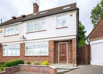 Thumbnail 4 bedroom semi-detached house for sale in The Reddings, Mill Hill, London