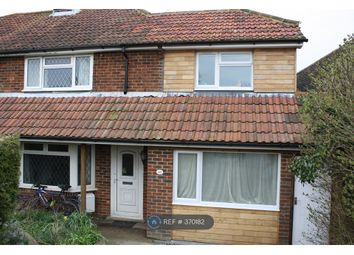 Thumbnail 4 bed semi-detached house to rent in Firle Crescent, Lewes