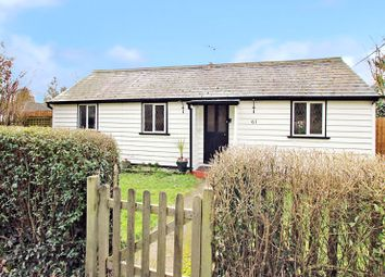 Thumbnail 3 bed detached bungalow for sale in 61 Parsonage Lane, Sidcup, Kent