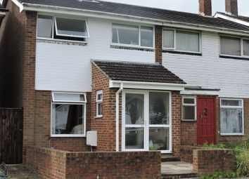 Thumbnail 3 bed semi-detached house to rent in Fabian Close, Basingstoke