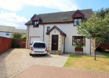 Thumbnail 4 bed detached house for sale in Balnageith Rise, Forres