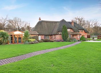 Thumbnail 4 bed detached house to rent in Crookham Common Road, Crookham Common, Thatcham