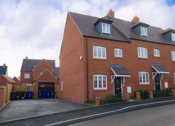 Thumbnail 4 bed end terrace house for sale in Foxhills Way, Brackley