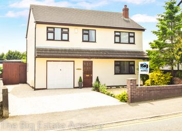 Thumbnail 4 bed detached house for sale in Mold Road, Ewloe
