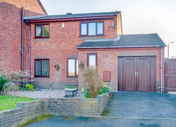 2 bed link-detached house for sale in Ivy Spring Close, Wingerworth, Chesterfield S42