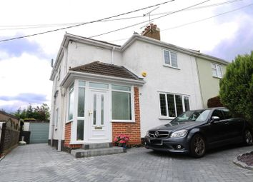 Thumbnail 3 bed semi-detached house for sale in Cranbrook Avenue, Hadleigh, Benfleet