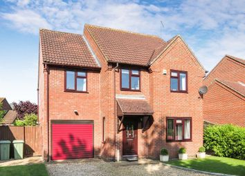 Thumbnail 5 bed detached house for sale in Denshire Court, Baston, Peterborough