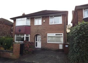 Thumbnail 5 bed detached house for sale in Glenfield Road, Heaton Chapel, Stockport, Greater Manchester