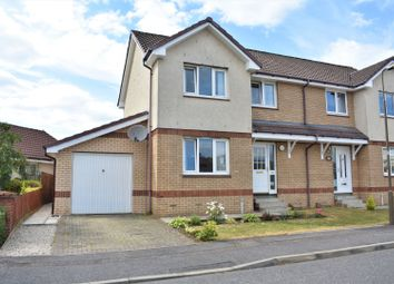 Thumbnail 3 bed semi-detached house for sale in Haymarket Crescent, Livingston
