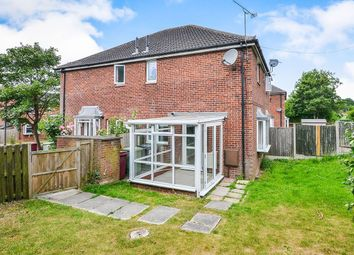 Thumbnail 1 bed terraced house for sale in Slade Close, Broadmeadows, South Normanton, Alfreton