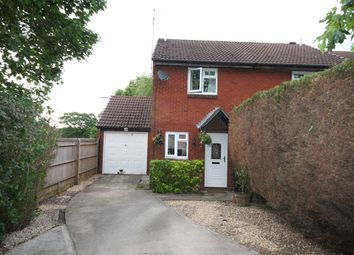 Thumbnail 2 bedroom end terrace house for sale in Brent Close, Thatcham