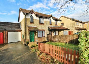Thumbnail 2 bed semi-detached house to rent in Engaine Drive, Shenley Church End, Milton Keynes