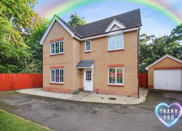 Thumbnail 5 bed detached house for sale in Benet Close, Thetford