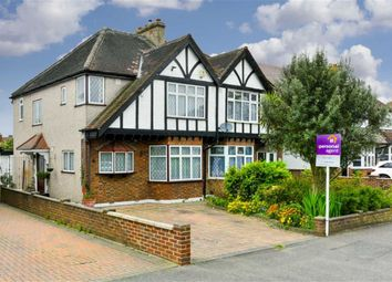 Thumbnail 3 bed semi-detached house for sale in Waverley Road, Stoneleigh, Surrey