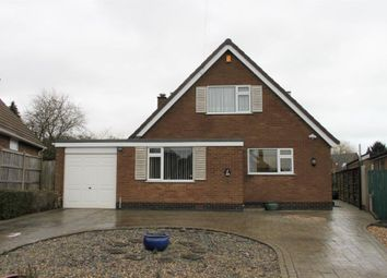 Thumbnail 3 bed detached house for sale in Bannels Avenue, Littleover, Derby