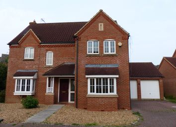 Thumbnail 4 bed detached house for sale in Tern Road, Hampton, Peterborough