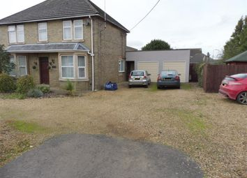 Thumbnail 4 bed detached house to rent in Peterborough Road, Crowland, Peterborough