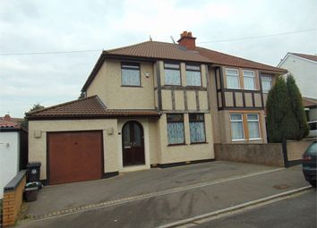 Thumbnail 4 bed semi-detached house for sale in Braikenridge Road, Brislington, Bristol