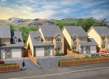 Thumbnail 4 bed detached house for sale in Plot 2, Llanberis Road, Llanrug, Llanrug, Gwynedd