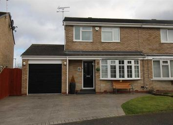 Thumbnail 3 bed semi-detached house for sale in Oakley Drive, Eastfield Green, Cramlington