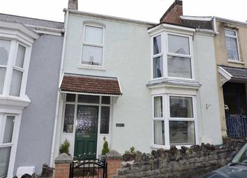 Thumbnail 3 bedroom terraced house for sale in Woodville Road, Mumbles, Swansea