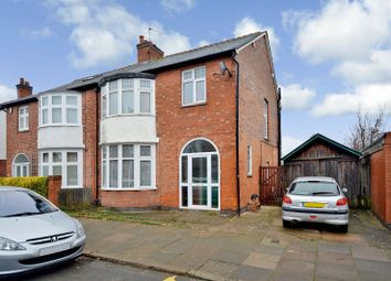 Thumbnail 3 bedroom semi-detached house for sale in Landseer Road, Clarendon Park, Leicester