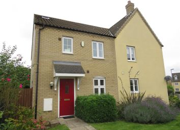 Thumbnail 4 bedroom semi-detached house for sale in Morley Drive, Ely