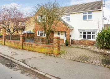 Thumbnail 4 bed detached house for sale in Stonald Road, Peterborough